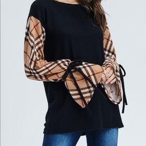 Burberry Sleeve Light Weight Sweater